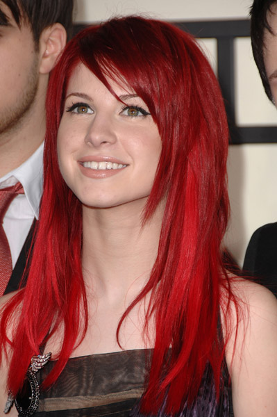 orange hair hayley williams   collection services of